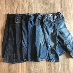 {{Bundle*7}} kids unisex jeans size 2T Nautica